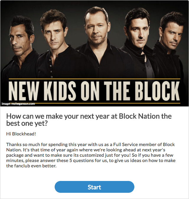 Survey NKOTB
